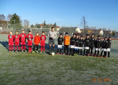 E1 - Punktspiel beim Bornaer SV 91 1:4