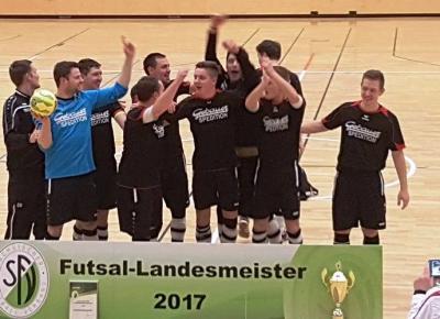 Männer sind Futsal Landesmeister!