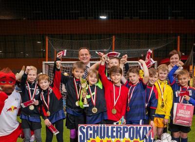 Rotationer im Einsatz: Grundschule Wiederitzsch gewinnt Schülerpokal von RB