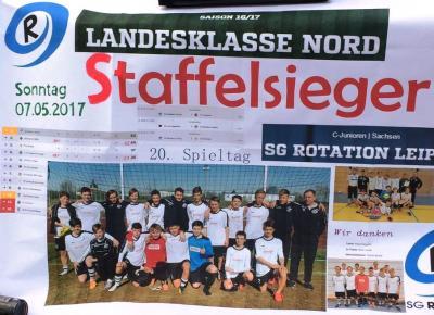 C1 ist durch! Meister / Staffelsieger Landesklasse Nord