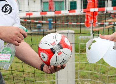 Mannchaftstraining & Spiele unter Auflagen wieder möglich