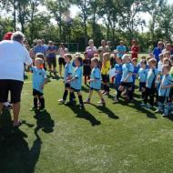 Vereinsfest - volle Hütte - Triple-Aufstiegs-Party & Bambini-Turnier...